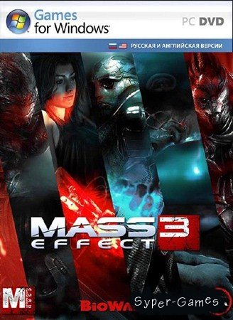 Mass Effect 3 Digital Deluxe Edition (2012/ENG/RUS/Multi7/RePack от R.G. Catalyst) + [DLC]