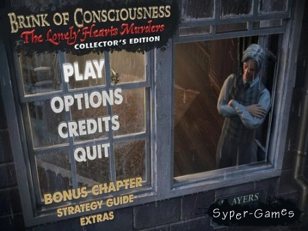 Brink of Consciousness 2: The Lonely Hearts Murders Collector's Edition (2012/Eng)