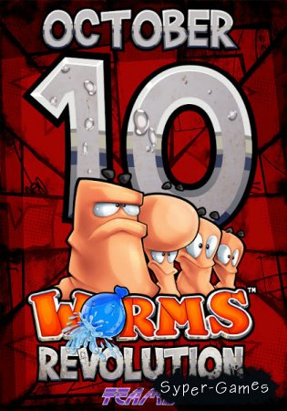 Червячки: революция / Worms Revolution (2012) REPACK