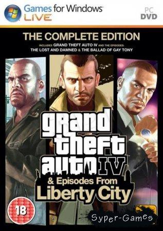 Grand Theft Auto IV: The Complete Edition / ГТА 4: Полное издание (2009-2010)