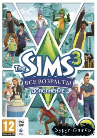 The Sims 3: Generations + DLC (2012/Русский)