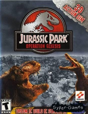 Jurassic park: Operation Genesis (2003/PC/RePack)
