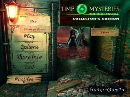 Time Mysteries 3: The Final Enigma Collector's Edition (2013/Eng)