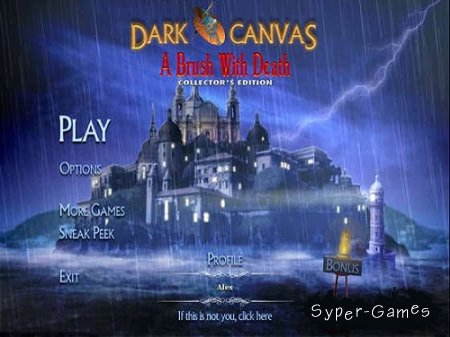 Dark Canvas: A Brush With Death Collector's Edition (2013/Eng)