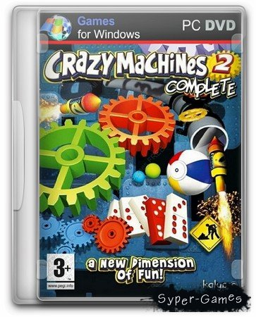 Crazy Machines 2: Happy New Year Bundle Edition (2013/ENG) -TiNYiSO