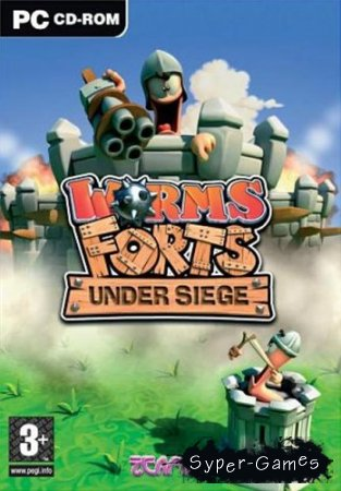 Worms Forts: Under Siege (2004/PC/RUS)