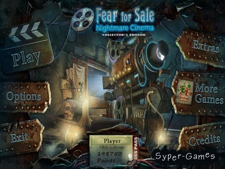 Fear for Sale 3: Nightmare Cinema Collector's Edition (2013/Eng) обновлён от 05.04.2013