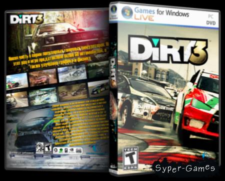 Dirt 3 + DLC (Русский/PC)