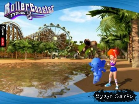 Roller Coaster Tycoon 3 + DLC (PC/Русский)