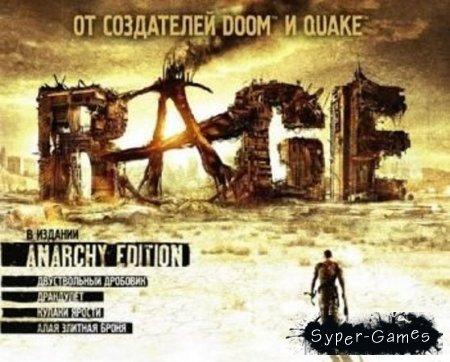 RAGE: Anarchy Edition + 6 DLC (Полностью Русский)