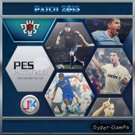 PES 2013: PESEdit / Pro Evolution Soccer 2013 [v. 3.5.1] (2013/PC/Patch)