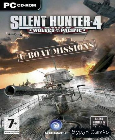 Silent Hunter 4: U-Boat Missions (DLC/Русский/Английский)