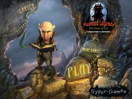 Haunted Legends 4: The Curse of Vox. Collector's Edition (2013/Eng)