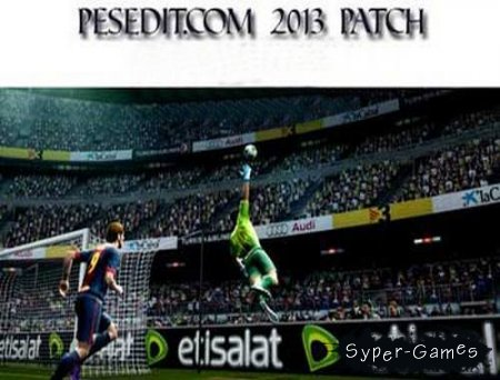 PESEdit.com 2013 Patch 6.0 (Pro Evolution Soccer 2013) (2013/Patch)