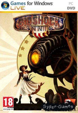 Bioshock Infinite v.1.1.24.21018 + 3 DLC (2013/RUS/ENG/Repack by Fenixx)
