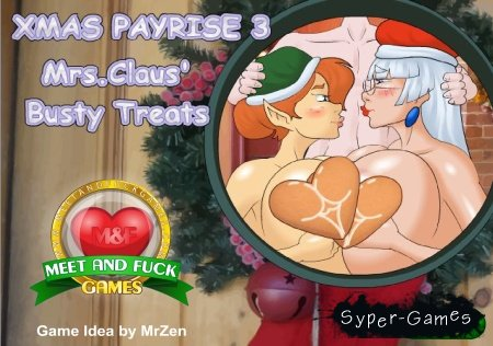 Xmas Pay Rise 3 - Mrs. Claus' Busty Treats