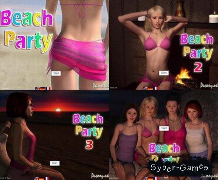Beach party 1-4 (2013/RUS/PC)