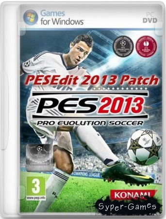 PESEdit.com 2013 Patch 6.0 - финальная версия (Pro Evolution Soccer 2013)  (Сезон 2014/2015/Multi)