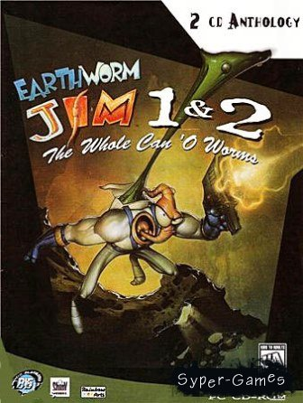 Earthworm Jim: The Whole Can O' Worms - Дилогия (1996) PC