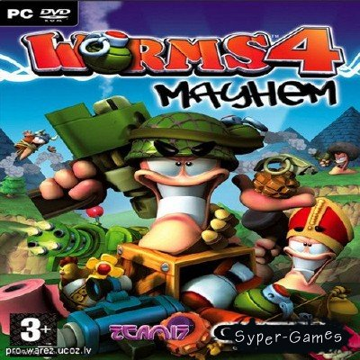 Worms 4: Mayhem / ������� 4: ������ (2005/RUS/RePack)