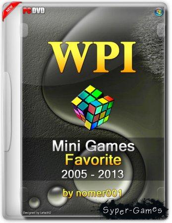 Nomer001 WPI Mini Games Favorite Repack (2005 - 2013/RUS)