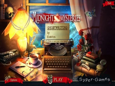 Midnight Mysteries 6: Ghostwriting Collector's Edition (2015/ENG)