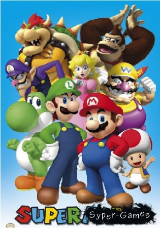 Super Mario - collection (2015/PC)