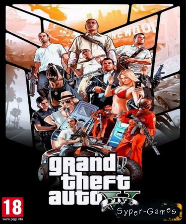 GTA 5 / Grand Theft Auto V + Exclusive content DLC (2015/RUS/ENG/Repack by =nemos=)