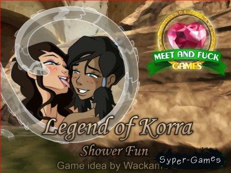 Legend of Korra Shower Fun