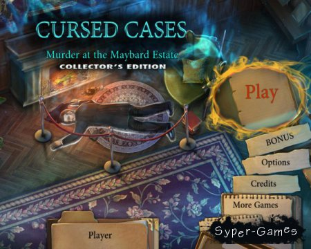 Cursed Cases: Murder At The Maybard Estate Collectors Edition (2016/ENG)
