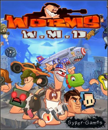 Worms W.M.D (2016/RUS/ENG/RePack by VickNet)