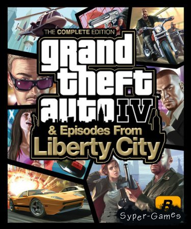 Grand Theft Auto IV: Complete Edition (2010/RUS/ENG/RePack by xatab)