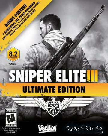 Sniper Elite 3: Ultimate Edition (2014-2016/RUS/RePack by qoob)