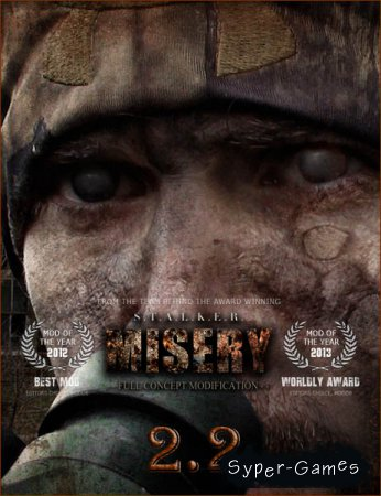 S.T.A.L.K.E.R.: Call of Pripyat - MISERY 2.2 (2017/RUS/RePack by SeregA-Lus)
