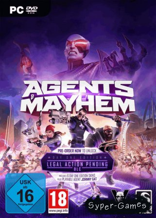 Agents of Mayhem *v.1.0.6* (2017/RUS/ENG/RePack)