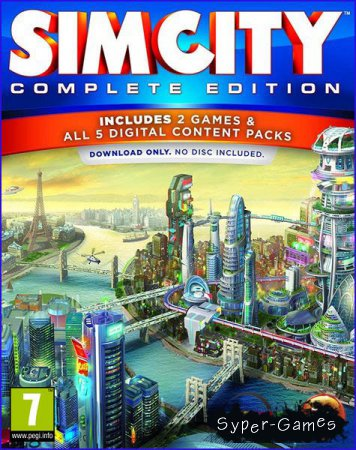 SimCity: Complete Edition (2014/RUS/ENG/RePack by xatab)