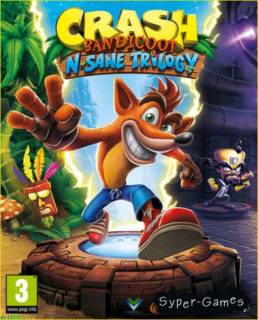 Crash Bandicoot N. Sane Trilogy (2018/ENG/Multi/RePack by xatab)