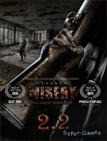 S.T.A.L.K.E.R.: Call of Pripyat - MISERY 2.2.1 (2018/RUS/RePack by SeregA-Lus)