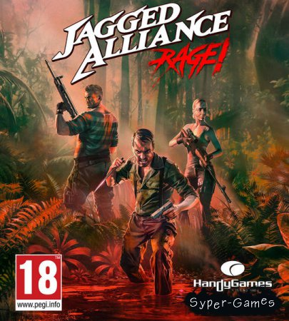 Jagged Alliance: Rage! (2018/RUS/ENG/MULTI)
